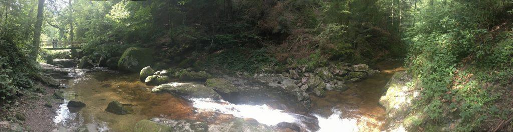 Wodospad Geroldsau