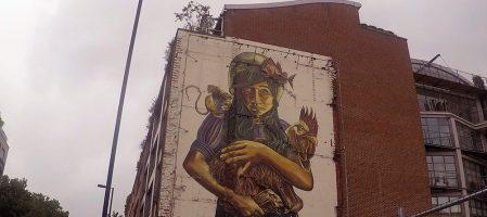 Teratology – mural in London